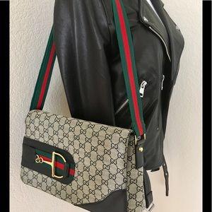 Gucci shoulder bag iconic bag envelope style bag